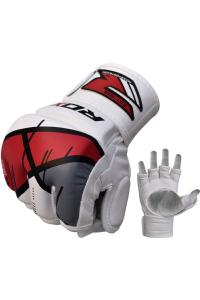 Перчатки для ММА RDX Grappling Gloves Rex Red T7