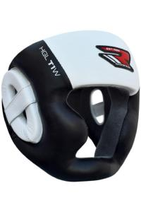 Шлем RDX Muay Thai Head Guard HGL-T1W White