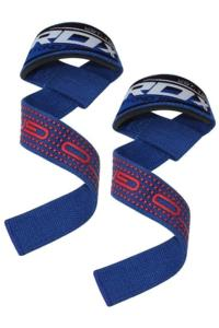 Ремень для турника RDX Weight Lifting Training Gym Straps Blue