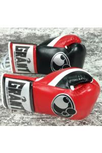 Перчатки для бокса боевые Grant Pro Panchers Boxing Gloves Red/Black/White
