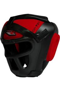 Шлем RDX Boxing Head Guard Protector GRILL HGX-T1 Red