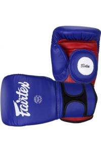 Перчатки для тренера Fairtex  Coach Sparring Gloves Blue/Red