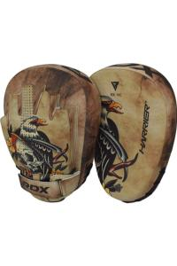 Лапы RDX Focus Pad Micro HARRIER Tattoo Brown